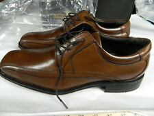 NWB DOCKERS MEN'S ENDOW TAN 10.5M ALL MOTION COMFORT BICYCLE TOE LACE UP SHOES