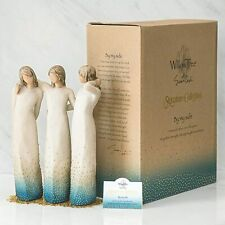 Demdaco, Willow Tree By my side, sculpted hand-painted figure_#27368