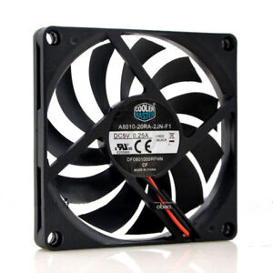 1PC CoolerMaster A8010-20RA-2JN-F1 DC5V 0.25A 8CM ultra-thin silent cooling fan