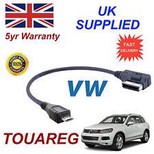 VW Touareg Ami Mmi 5g0051763c mp3 Telefono Micro USB Cavo di ricambio