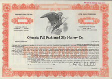CLOTHING, FASHION COMMON STOCK CERTIFICATE SPECIMENS (4) DIFFERENT BN7066