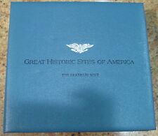 Franklin Mint Great Historic Sites America 26 Coins w/ 1st Day Cover, USC#290