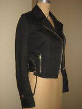 REISS 1971 Women's Designer Black Denim Jaclet Size  XS Mint Condition!!!