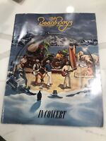 Vintage 1980 The Beach Boys Concert Book And Program From World Tour in 1980