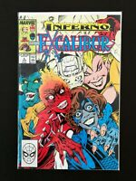 EXCALIBUR #6 MARVEL COMICS 1989 NM