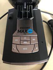 Escort MAX360C Radar Laser Detector Bluetooth Built-In WiFi Speed Camera Police