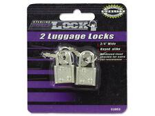 2-Pack Luggage Suitcase Locks with Keys