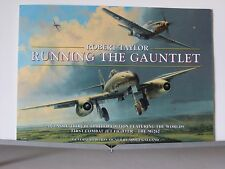 Running the Gauntlet Me262 JV44 P51 353rd FG Robert Taylor Aviation Art Brochure