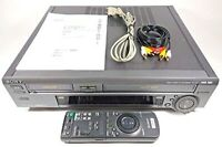 Sony Hi8 + VHS Video Deck Wv-H4 from Japan