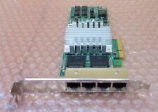 HP 436431-001 NC364T de cuatro puertos Gigabit Ethernet Adapter Tarjeta PCI-E de altura completa