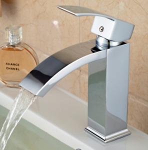 Badarmatur Einhebelmischer Wasserhahn Mischbatterie Messing Chrom