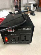 PYLE PRO (R) PVTC300U Pyle Pro Step Up & Down Voltage Converter Transformer USED
