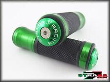 Strada 7 CNC Verde Empuñadura y tope TAPAS Conjunto Aprilia Rst1000 Futura Falco