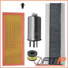 SERVICE KIT B AIR+OIL+POLLEN+FUEL FILTER FORD MONDEO MK 3 2.0 01-07