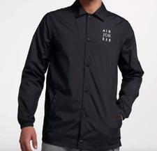 Jumpman Coach's Jacket - Black/White (AJ6795-010)