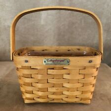 Longaberger 1998 Tour Edition Dresden Basket vintage woven