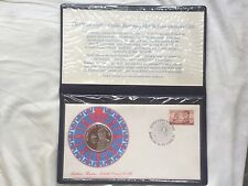 1974 Matthew Flinders Medalic PNC Philatelic Numismatic Cover Coin Stamp Set