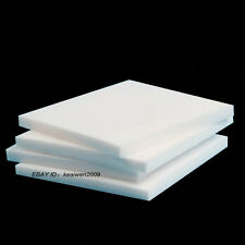 100x100x15mm Virgin Teflon PTFE Sheet White Plastic Panel sealing bearing Rings