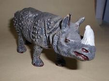 vintage Lineol Elastolin rhinoceros rhino animal figure version 2
