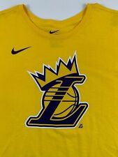 Los Angeles Lakers Authentic Nike NBA T-Shirt, 100% Cotton, XXLarge, Yellow