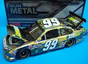 Carl Edwards 2012 Subway Fusion #99 Gun Metal Finish 1/24 NASCAR Diecast New
