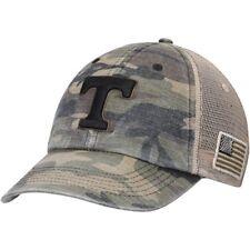 Tennessee Volunteers Top of the World Declare Trucker Adjustable Hat - Camo