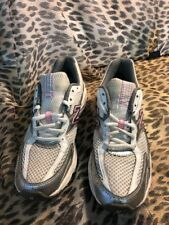 New Balance 350 Abzorb Women US 8 White Gray + Pink Walking Hiking Athletic Shoe