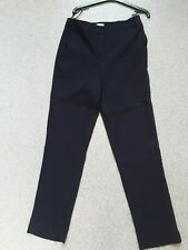 New Warehouse Navy Trousers size 10 with pockets