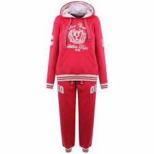 Women Ladies Tracksuit Set Fleece Jogging Bottom Sweatshirt Sports Tops Pants