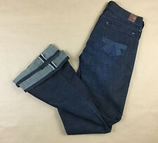 AMERICAN EAGLE Womens Real Flare JAPANESE SELVEDGE Jeans Tag 4 Reg Actual 29x32