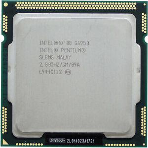 Lot of 8 Intel Pentium G6950 SL8MS SLBTG 38012049 2.8GHz Dual Core CPU 1156