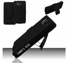 Motorola Droid RAZR Maxx HD (Verizon) Rubberized Holster Combo - Black