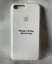 Original Apple iPhone 7 / 8 Plus Silikon Case in Weiß