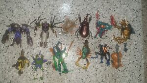 Beast Wars Transformers Lot Vintage Toy Quick-strike Ramhorn Rattrap Predacons