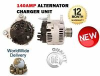 FOR SEAT IBIZA V ST 2009 > 1.6 2.0 TDI 6J1 6J8 140AMP ALTERNATOR CHARGER UNIT