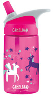 Camelbak Eddy Kid's BPA-Free Bottle 12oz (.4L) - Pink Unicorns (DC'd)
