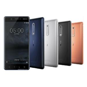 "Unlocked Android Nokia 5 Dual SIM 4G LTE 16GB ROM 2GB RAM 13MP 5.2"" Phone"