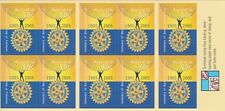 Australia Stamps Booklet 2005 Centenary Rotary International B275 Unfolded