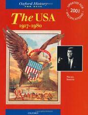 The USA, 1917-1980 (Oxford History for GCSE)-Nigel Smith
