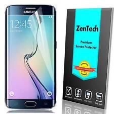 Clear [FULL COVERAGE] Anti-shock Screen Protector Guard Samsung Galaxy S6 Edge