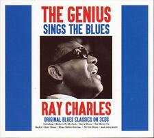 RAY CHARLES - THE GENIUS SINGS THE BLUES (NEW SEALED 3CD)