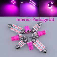 Premium Pink Lights SMD Car Interior LED Package 10PC Kit for Mazda 6 2003-2008