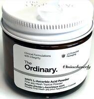 THE ORDINARY 100% L-Ascorbic Acid POWDER ~ 20g ~ SEALED ~ Vitamin C ~ NEW IN BOX