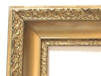 ANTIQUE   GREAT QUALITY GILT FRAME FOR PAINTING  20  X 16   OUTSIDE 29 X 25 INCH