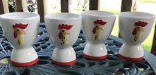 Retro Holt Howard Egg Cups Farmhouse Style Free Shipping