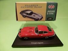 ATLAS 102 JAGUAR E-TYPE COUPE  - RED 1:43  - EXCELLENT CONDITION IN BOX
