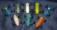 Macchinina Lotto 8 Plastica Vintage Epoca Sterzanti