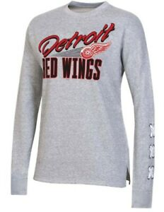 Detroit Red Wings NHL Licenced Fleece Pullover (Women's Small 4/6) NWT