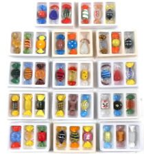 42 Hand Blown Art Glass wrapped Candy Pieces Decorative Candies Colorful