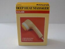 Kolvin Deep Heat Massager In Box With Attachments Model DH-2 Free Shipping
